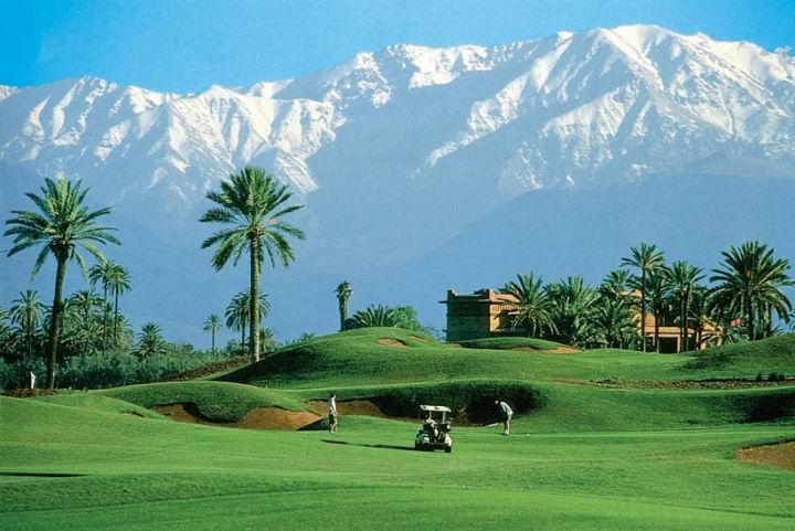 Starting Golf & Marrakesch - Amelkis