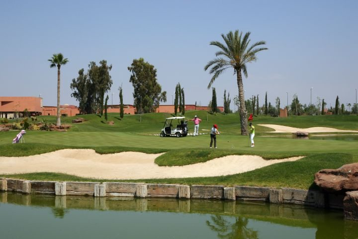 Starting Golf & Marrakesch - Atlas